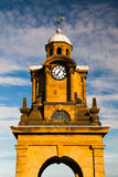Tower clock in Scarborough Royalty Free Stock Image