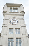 Tower clock school Royalty Free Stock Photography