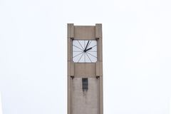 Tower clock. On a street royalty free stock photos
