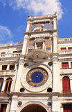 Tower clock in Venice, Italy Stock Photography