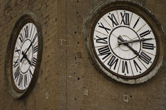 Tower clocks Royalty Free Stock Images