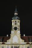 Tower with clocks of Loreta Royalty Free Stock Photos