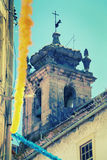 Tower in Coimbra Royalty Free Stock Photo