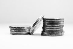 Tower of coins 1 Royalty Free Stock Photo