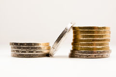 Tower of coins 2 Royalty Free Stock Photo