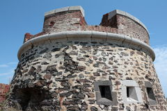 Tower in Collioure Royalty Free Stock Photography