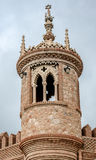 Tower of Colomares Castle. Benalmadena town. Spain Stock Photos
