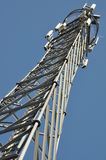 Tower of communication with antennas Stock Photography