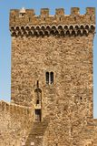 The Tower of the Consular Castle. Royalty Free Stock Photo