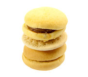Tower of cookies Royalty Free Stock Image