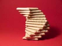 Tower of cookies Stock Images