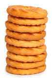 Tower of a cookies Royalty Free Stock Photos