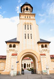Tower of Coronation Cathedral, Alba Iulia, Romania Stock Image