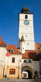 Tower of council in Sibiu Royalty Free Stock Photo