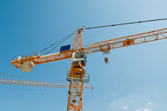 Tower Crane 1 Royalty Free Stock Images