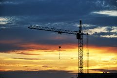 Free Tower Crane Stock Photos - 128242293