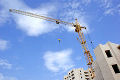 Tower crane Royalty Free Stock Photography