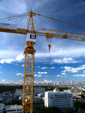 Tower crane Stock Photo