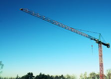 Tower crane royalty free stock images