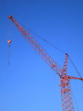 Tower Crane on Blue Sky - Stock Picture Royalty Free Stock Photography