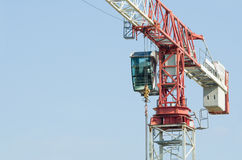 Tower Crane Closeup Stock Photo