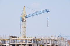 Tower crane Stock Image