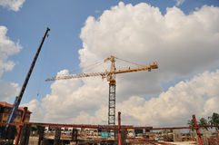 Tower Crane Series II Royalty Free Stock Images