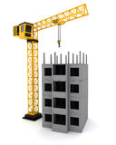 Tower crane Royalty Free Stock Photo