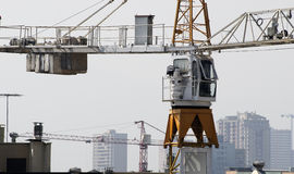 Tower cranes Stock Photos
