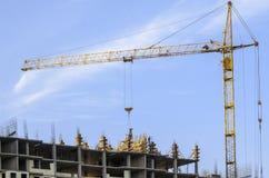 Tower cranes Stock Image