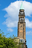 Tower with cross on top in Edinburgh Scotland Royalty Free Stock Photos