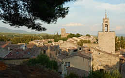 Tower of Cucuron in France Stock Image