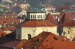 Tower of Czech Museum of Music Royalty Free Stock Images