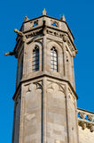 Tower datails from Basilique Saint Nazaire et Saint Celse at Car Stock Images