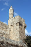 The Tower of David Stock Photos