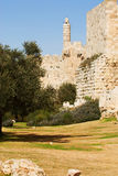 The tower of David Stock Photo