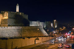 Tower of David, Jerusalem Stock Photos
