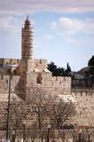 Tower of David, Jerusalem Royalty Free Stock Photo