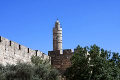 Tower of David, Jerusalem Stock Images