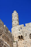 Tower of David, Jerusalem. Tower of David in Jerusalem, Old city, Israel Royalty Free Stock Photos
