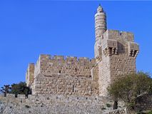 Tower of David, Jerusalem Stock Photo