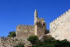 Tower of David, Jerusalem Royalty Free Stock Photography