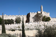 Tower of David, Jerusalem Royalty Free Stock Photo