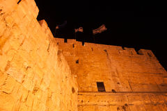 Tower of david in Jerusalem Royalty Free Stock Photography