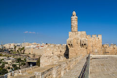 The Tower of David, Jerusalem Citadel Royalty Free Stock Images