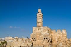 The Tower of David, Jerusalem Citadel Stock Images