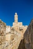 The Tower of David, Jerusalem Citadel Royalty Free Stock Image