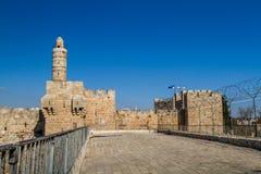 The Tower of David, Jerusalem Citadel Stock Photo