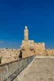 The Tower of David, Jerusalem Citadel Royalty Free Stock Photo