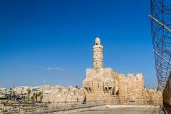 The Tower of David, Jerusalem Citadel Stock Photos